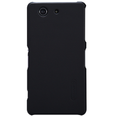 Harga Hemat Nillkin Frosted Hard Case Sony Xperia Z3 Compact Black