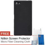 Harga Nillkin Frosted Hard Case Sony Xperia Z5 Compact Hitam Gratis Screen Protector Micro Fiber Baru Murah