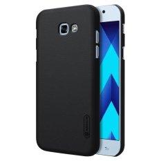 Perisai NILLKIN Buram untuk Samsung Galaxy A7 (2017)/A720 Cembung Cekung Tekstur PC Pelindung Case Penutup Belakang (Hitam) -Intl