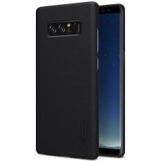 NILLKIN Beku Perisai untuk Samsung Galaksi Note 8 Tekstur Cembung Cekung Buah Pelindung Case Sampul Belakang (Hitam) -Internasional