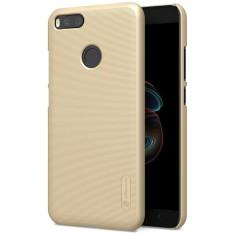 Perisai NILLKIN Buram untuk Xiaomi Serta 5X Cembung Cekung Tekstur PC Pelindung Case Penutup Belakang (Emas)-Intl