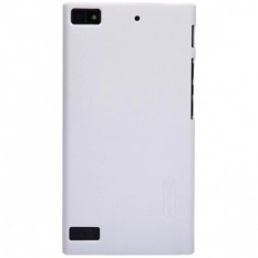 Nillkin Frosted Shield Hard Case Original For Blackberry Z3 - Putih + Gratis Nillkin Screen Protector