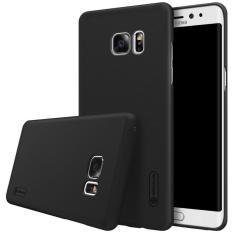 Nillkin Frosted Shield Hard Case Samsung Galaxy Note FE (Fan Edition / Note 7) - Hitam + Free Nillkin Screen Protector