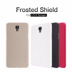Nillkin Hard Case (Super Frosted Shield) - LG X Screen (K500Y) Black