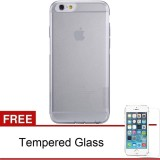 Beli Nillkin Iphone 6 6S 4 7 Nature Tpu Jelly Soft Case Clear Transparan Free Tempered Glass Dengan Kartu Kredit