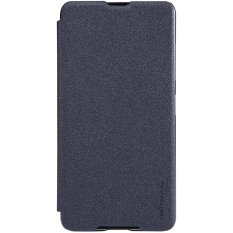 NILLKIN Leather Case Sparkle Series Super Tipis Flip Cover untuk Lumia 650-Intl