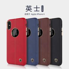 Spesifikasi Nillkin Leather Cover Englon Series Iphone X Iphone 10 Iphone Ten Blue Biru Yg Baik