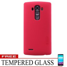 Nillkin LG G4 Super Frosted Shield - Merah + Free Tempered Glass