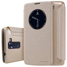 Nillkin Lg K8 Sparkle Leather Case Original - Emas(Multicolor)