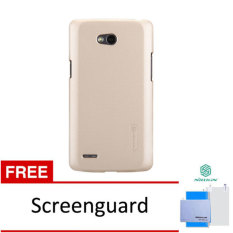 Nillkin LG L80 Super Frosted Shield - Emas + Gratis Anti Gores
