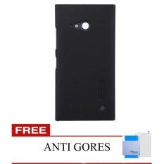 Spesifikasi Nillkin Nokia Lumia 730 Super Frosted Shield Hitam Gratis Anti Gores Nillkin Terbaru