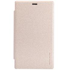 Harga Nillkin Nokia X2 Sparkle Leather Case Gold Origin