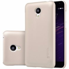 Nillkin Original Hard Case Frosted Case Meizu M2 (Blue Charm 2) - Emas + Free Screen Protector(Off