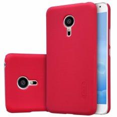 Nillkin Original Hard Case Frosted Case Meizu Pro 5 (Mx Supreme M578Ce M576 M576U) - Merah + Free Screen Protector(Off White)