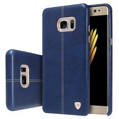 Diskon Nillkin Original Luxury Englon Series Back Cover Leather Case For Samsung Galaxy Note 7 N930 Biru Dki Jakarta