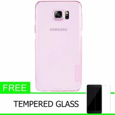 Iklan Nillkin Original Nature Tpu Soft Case Jelly Soft Case For Samsung Galaxy Note 5 N920 N9200 Pink Free Tempered Glass