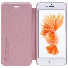 Nillkin Original Sparkle Series New Leather case for Iphone 7 Plus / Iphone 8 Plus - Rose Gold