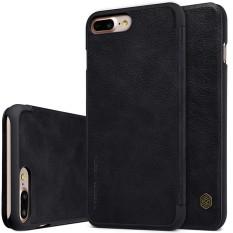 NILLKIN Premium Rak Sepatu Pajangan Flip Penutup Case untuk Apple iPhone 8 Plus dan 7 Plus Tas Pelindung Ponsel Kasus dengan Saku Kartu