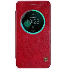 Ulasan Lengkap Tentang Nillkin Qin Leather Case Asus Zenfone 3 Ze552Kl 5 5 Inch Merah