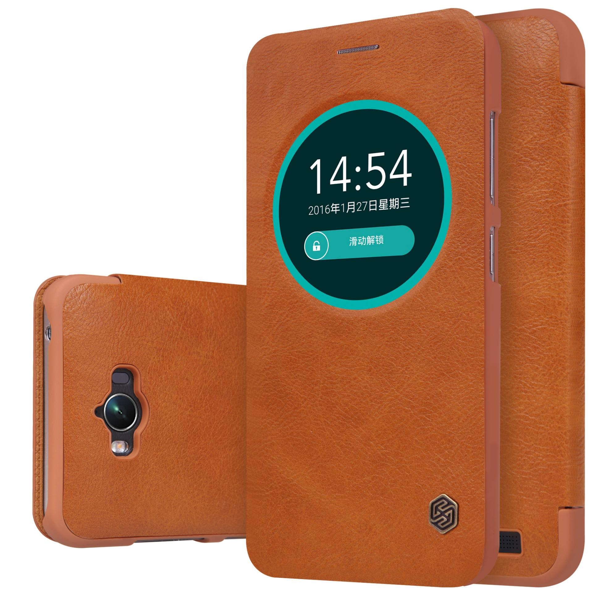 ASUS ZenFone Max ZC550KL Nillkin Qin Series Leather Case