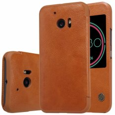 Nillkin Qin Series Leather Case For Htc 10 (10 Lifestyle) - Coklat(Brown)