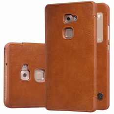 Nillkin Qin Series Leather case for Huawei Ascend Mate S (SCRR-UL00 Huawei Mates) - Coklat