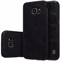 Situs Review Nillkin Qin Series Leather Case For Samsung Galaxy S7 Edge G9350 G935A G935F 5 5 Hitam