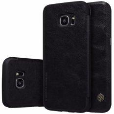 Jual Nillkin Qin Series Leather Case For Samsung Galaxy S7 Edge G9350 G935A G935F 5 5 Hitam Termurah