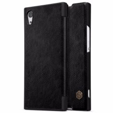 Spesifikasi Nillkin Qin Series Leather Case For Sony Xperia Xa1 Hitam Paling Bagus