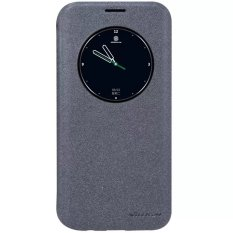 Jual Nillkin Samsung Galaxy S7 Edge Sparkle Window Leather Flip Case Original Black Satu Set