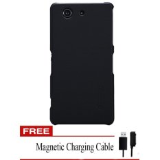 Tips Beli Nillkin Sony Xperia Z3 Compact Super Frosted Sheild Hitam Gratis Magneticcharging Cable Yang Bagus