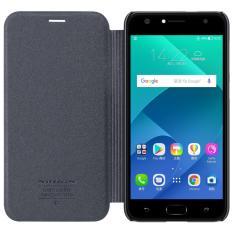 Harga Nillkin Sparkle Flip Case Cover Asus Zenfone 4 Selfie 5 5 Black Terbaru