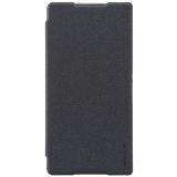 Spesifikasi Nillkin Sparkle Flip Case Cover Sony Xperia C5 Ultra Hitam Murah Berkualitas