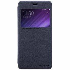 Nillkin Sparkle Flip Case Cover Xiaomi Redmi 4 Prime Black