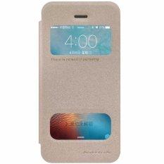 Nillkin Sparkle Leather case Apple iPhone 5 5S 5SE (iPhone SE) - Emas