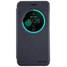 Review Nillkin Sparkle Leather Case Flip Case Cover Original Asus Zenfone 3 5 2 Inch Ze520Kl Hitam Nillkin
