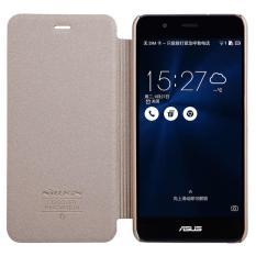 Jual Nillkin Sparkle Leather Case Flip Case Cover Original Asus Zenfone 3 Max Zc520Tl Emas Satu Set