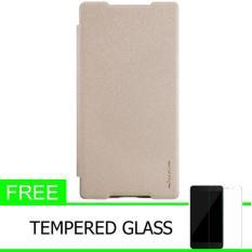 Nillkin Sparkle Leather Case / Flip Case Cover Original Sony Xperia Z5 Premium (Xperia Z5 Plus) - E