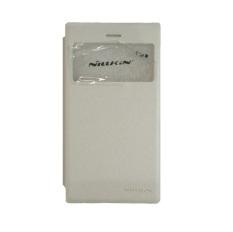 Nillkin Sparkle Leather Case for Blackberry Z3 - Putih