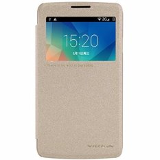 Nillkin Sparkle Leather Case For Lg L60 (X145) - Emas(Gold)