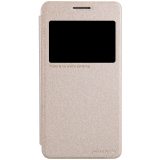 Jual Nillkin Sparkle Leather Case Flip Cover Original For Samsung Galaxy Grand Prime Gold Import