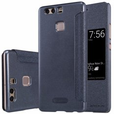 Nillkin Sparkle Leather case Huawei Ascend P9 Plus - Hitam