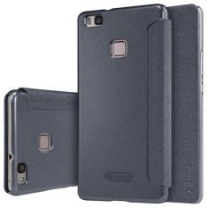 Review Terbaik Nillkin Sparkle Leather Case Huawei P9 Lite Black