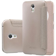 Nillkin Sparkle Leather Case Lenovo Zuk Z1 Casing Cover Flip - Emas