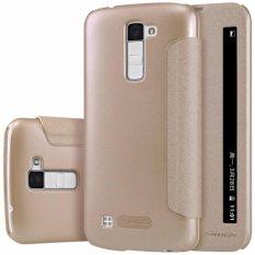 Nillkin Sparkle Leather case LG K10 - Emas