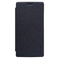 Nillkin Sparkle Leather Case - OnePlus 2 - Hitam