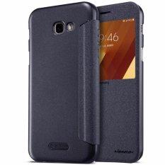 Harga Nillkin Sparkle Leather Case Original For Samsung Galaxy A5 2017 A520F Black Yg Bagus