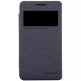 Harga Nillkin Sparkle Leather Case Original For Samsung Galaxy Core 2 G355H Hitam Paling Murah