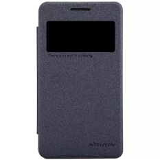 Spesifikasi Nillkin Sparkle Leather Case Original For Samsung Galaxy Core 2 G355H Hitam Baru