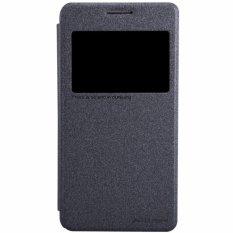 Promo Toko Nillkin Sparkle Leather Case Samsung Galaxy Grand Prime G5308W G5309W G530H Hitam
